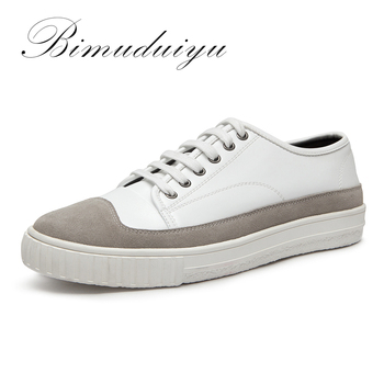 BIMUDUIYU hommes Confortable Respirant Casual Shoe Lace Up Chaussures Sapato Masculino Zapatos Hombre Pied Hommes Formateurs Superstars