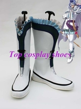 Freeshipping The Legend of Heroes VI Blblanc Cosplay Boots shoes for  Halloween Christmas festival