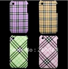 Free shipping 10pcs/Lot hot sale! hard skin back housing cover case for iPhone3 3G 3GS Cases(China)