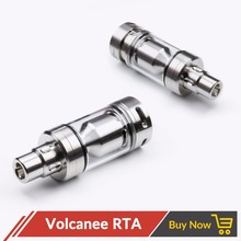 Volcanee 316SS MTL RTA Atomizer Airdisk MTL Skydisks Tank 4ml with 510 Drip Tip E Cigarettes vape Accessories