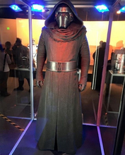New Star Wars The Force Awakens Kylo Ren Cosplay Costume Adult Black Jedi Robe Including Belt Coat Gloves Pants Shirt Scarf(China)