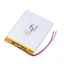 Taipower flat battery lithium polymer battery 306887 1900mAh 3.7v For GPS DVR toys mp3 MP4 MP5 Speaker E-book tablet pc(China)