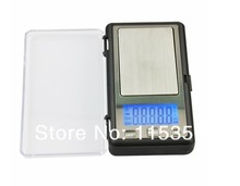free shipping APTP450 500g x 0.1g Digital Pocket Jewelry Scale with Calibration Weights