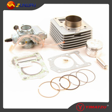 YIMATZU ATV Engine Parts 57.4MM Cyinder Big Bore Kit for YAMAHA YBR125 125CC Motorcycle