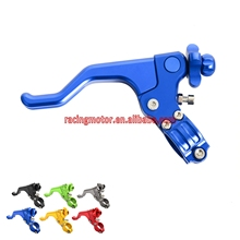 "22MM 7/8"" CNC Short Stunt Clutch Lever Assembly For Kawasaki KX85 KX250 KX500 KX250F KX450F KDX200 KDX220 KLX250 KLX400 KLX450R"