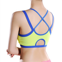 Sexy Women Stretch Bra top Lady Casual Crossing back Bras Seamless Breathable brassiere Leisure Fitness Bras