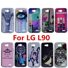Newest Super Hot Brand Fashion Design Pattern Hard Back Cover Case For LG L90 Series III L90 D405 d415 d410