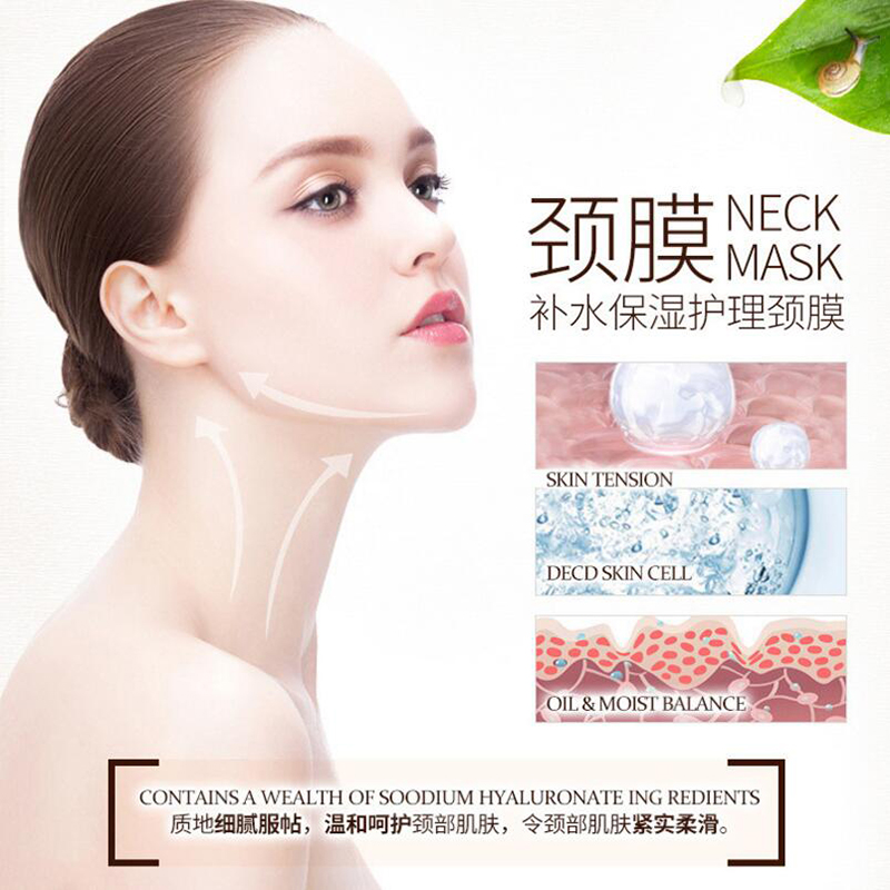 BIOAQUA Anti Aging Neck Mask Anti Wrinkle Skin Care Whitening Nourishing Best Neck Cream Tighten Neck Lift Neck Firming 4
