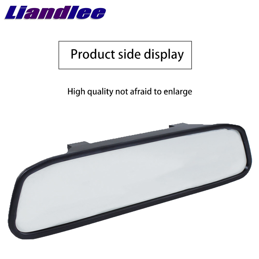 Liandlee 4.3inch Universal HD Car Rearview Mirror Display LCD Digital DVD VCD Car Rearview Mirror Display Monitor video input (3)