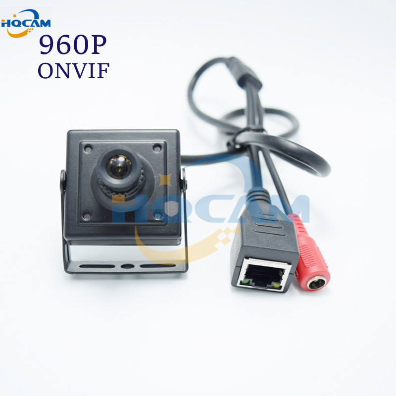 HQCAM HI3518C 960p HD Mini IP Camera 1.3 Megapixel H.264 ONVIF Mini network ip camera Motion detection Indoor Security<br>
