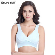 Gourd doll 34-42 Soft breastfeeding Maternity Nursing Bra Women Cotton Underwear Maternity bra Underwear Women BreastFeeding Bra