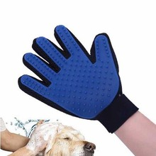 Pet Dog Deshedding Brush Glove Pet Dog Cat Gentle Efficient Massage Grooming Tool