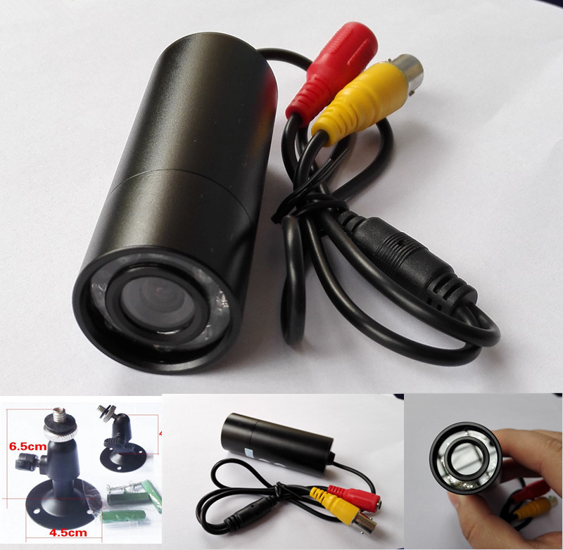 waterproof  Mini CCTV CAMERA  8PCS IR 940nm No red storm Nightvision Sony 700TVL Bullet Camera WIITH HD 2.8mm Wide-angle LENS<br>