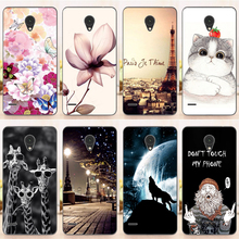 Fashion Silicon Painting Protective Case For ZTE Blade A210 4.5 inch Case Cover Fundas Coque for ZTE Blade A210 A 210