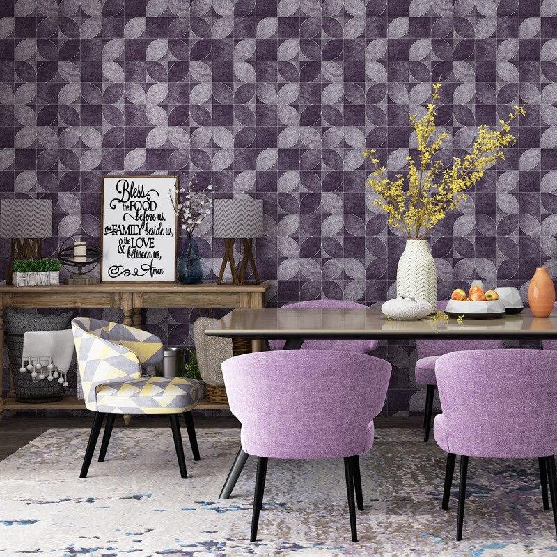 3D Vintage Mural wallpaper Square lattice petals WallPapers decor Coffee shop&amp;Bar&amp;Restraunt 53x1000cmrs papel de parede tapete<br>
