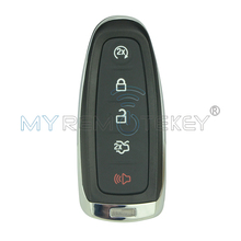 Smart remote key shell case cover for Ford Explorer Edge Taurus Flex M3N5WY8610 5 button 2011 2012 2013 2014 2015 remtekey(China)