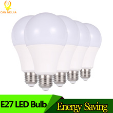 Super Bright LED Bulb Light E27 Lampada 3W 5W 7W 9W 12W 15W B22 Ampoule Led Lights 220V indoor for Home decor Cold White