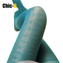 2015 Mori Japanese women rose tights magazine article noble aesthetic comfort thin women sexy tights(China)
