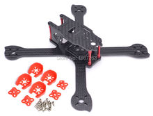1 set iX5 210 210mm carbon Fiber Frame drone Kit + Red Motor Cover for 22 Series 2204 2205 for Iflight 200mm