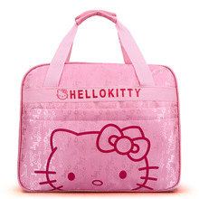 Hello Kitty Handbags Women Travel Bags for Girls Cartoon Shoulder Bag Big Capacity Girls Travel Bag Handbag for Travelling Toto