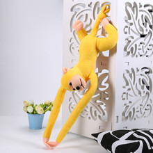 60cm Purple Hanging Monkey Long Arm Plush Baby Toys Doll Soft Stuffed Toy Plush Monkey Toy for Children Stuffed Toy