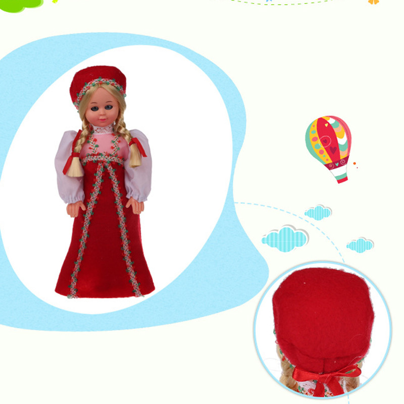 Vivid Cute Baby Ethnic Dolls 9.5inches Russian Girls Red Clothes Dolls Nationality Toys Childrens Best Gift For Kids 1009-004<br><br>Aliexpress