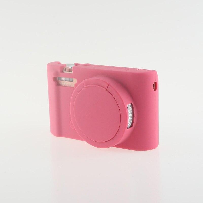 Soft Silicone Rubber Camera Bag Protective Body Case for Casio ZR5000 5500 5300-11