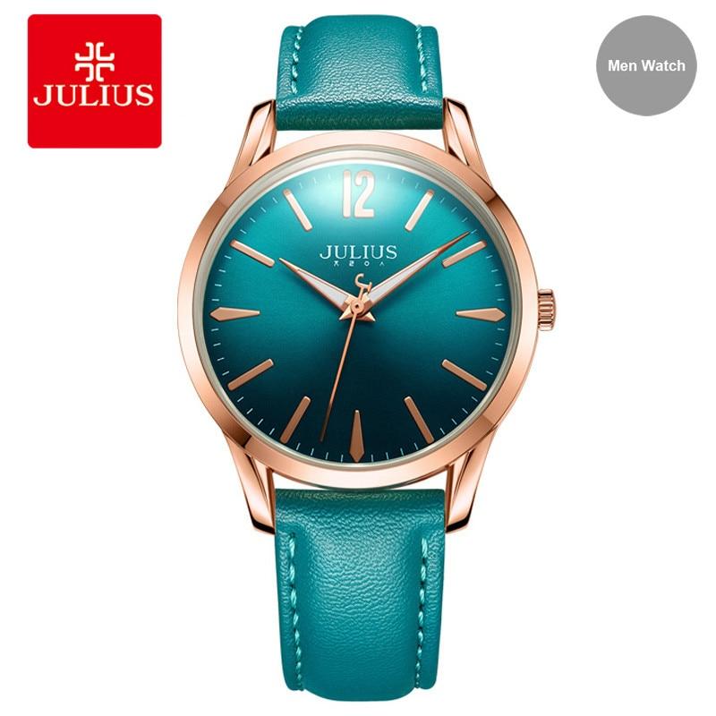 JULIUS 2017 New Arrival Design Simple Leather Women Watch Business Ladies Wristwatch Fashion Brand Clock Relogio Feminino JA-983<br>