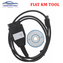 2017 New For FIAT KM Programm TOOL via OBD2 Odometer Mileage Correction Programmer For FIAT KM TOOL