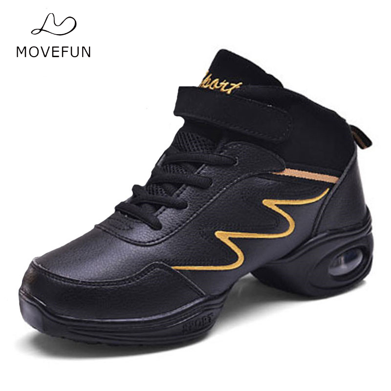 MoveFun Sports Feature Dance Shoes Woman white Jazz hip hop Shoes Sneakers for Women Modern Dance Girl Fitness Practice Shoes-02