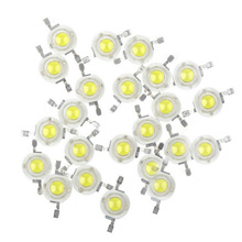 10PCS 3W 45mil chip Warm Natural Cool White 3500K 4500K 6500K 15000K LED Bulb bead lamp chip crystal diodes light lamp part