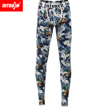 Brand Thermal Underwear Long Johns Men Thermal Underwear Thermal sleep bottom pants winter thermal Fashion Leader Intouch Free