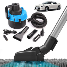 12V Wet Dry Vac Vacuum  Cleaner Inflator Portable Turbo Hand Held for Shop