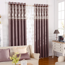 Insulated Curtains Full Blackout Draped Curtains Soundproof Sheer Fabric Drapes For Bedroom Room Divider Luxury Roman Shades