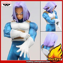 "Sale 100% Original Banpresto Resolution of Soldiers ROS Collection Figure Vol.5 - Trunks from ""Dragon Ball Z""(China)"