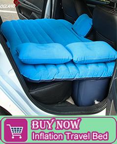 Air Inflatable ที่นอนสำหรับรถกลับที่นั่งเบาะ Air ปั๊มหมอนสำหรับ CAMPING