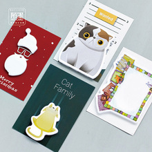 20 sets/1 lot Creative Fun series Memo Pad Sticky Notes Escolar Papelaria School Supply Bookmark Post it Label(China)