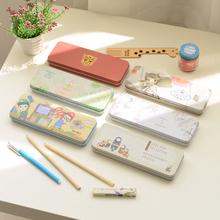 2 brief korea  pencil box tin pencil case pencil case