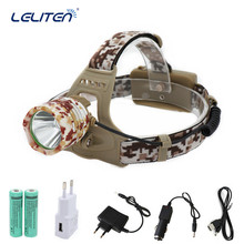 Rechargeable 6000LM XM-T6 led Headlamp Headlight Head Lamp Fishing light Lantern lighting + 18650 battery + Car/AC Charger + USB(China)