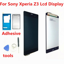 "Buy 5.2"" SONY Xperia Z3 Display Touch Screen Digitizer SONY Xperia Z3 LCD Screen Dual D6603 D6633 D6653 L55T for $20.89 in AliExpress store"