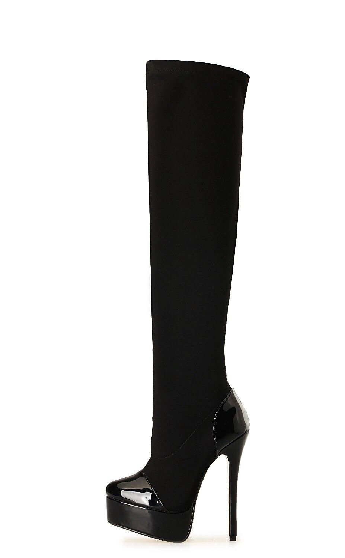 16CM High Height Sex boots Womens Heels Platform Stiletto Heel  Over-the-Knee Boots No.A30<br><br>Aliexpress