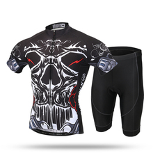 XINTOWN Prince of the Devils Men's Cycling Jersey 3D Gel Padded Shorts Biking Sportswear Breathable Quick Dry(China)