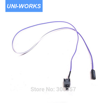 I/O Reset motherboard cable Desktop Computer PC Case POWER Button SW switch Cord Cable Re-starting switch cable(China)