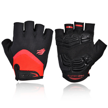 FIRELION Cycling Gloves for Men Women GEL Sport Mountain Bike Bicycle Gloves Breathable Off Road Half Finger MTB Gloves Mittens(China)