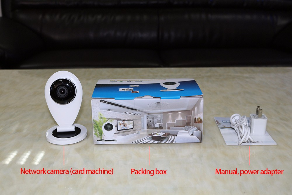 English version wifi ip camera mini 720p security camera security monitor alarm cctv IR night vision ip camera<br>