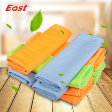 East 5 Pcs 30x40CM Microfiber Glass Towel Window Windshield Cleaning Cloths Eyeglass Towels Fast Drying Durable Glass Taps(China)