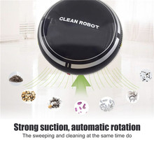 Mini Touchless Smart Vacuum Cleaner Rechargeable Smart Sweeping Robot Strong Suction Machine Sweep Clean Robot(China)