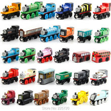 10 Pcs/Lot Thomas And Friends Mini Train Wooden Complete Set Of Car Toys(China)