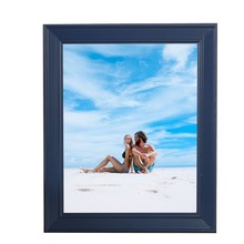 Blue Photo Frames Online Various Sizes MiNi Wooden Picture Frames Cheap With High Quality Rectangle Vintage Picture Frames(China)