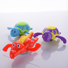 Baby Kids Bath Swimming toys animal toy fun shower Crocodile Wind Up Clockwork Play Baby Pool & Accessories for children(China)